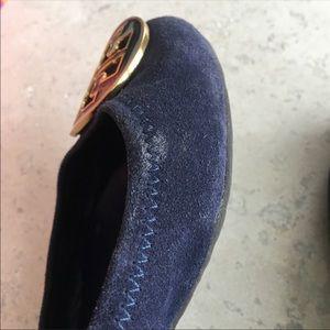 Tory Burch Shoes - Tory Burch Suede Reva Ballet Flats, 6.5